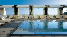 The Mondrian Hotel in West Hollywood...one of my favorite spots!