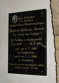 Pfarrer Andreas Rieser, Dorfgastein