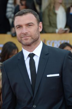 Liev Schreiber. I get chills up my spine just looking at him.