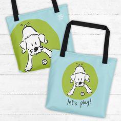 Le chouchou de ma boutique https://www.etsy.com/ca-fr/listing/555745887/sac-fourre-tout-amoureux-des-chiens
