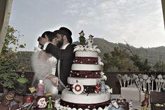 Wedding Cake Quattro piani d'amore