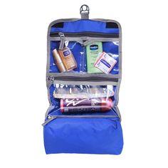 Yark Polyester Travel Kit In Blue Color