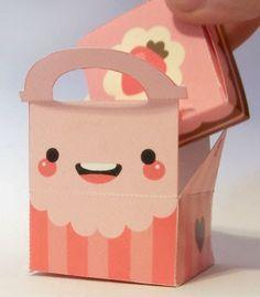 Papercraft ♥ creare con la carta: Scatolina fai da te di carta per piccoli, deliziosi, regali!