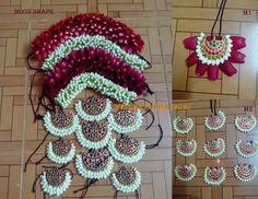 The Flowery Tales of Wedding Flower Jadai Flower Garland Wedding, Bridal Flowers, Flowers In Hair, South Indian Wedding Hairstyles, Bride Hairstyles, Flower Hair Accessories, Wedding Hair Accessories, Bridal Hair Buns, Indian Bridal Makeup