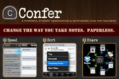 iPad App for Teachers: Conferring Notes & Student Data (Paperless) with the Confer App - created by a National Board Certified Teacher!