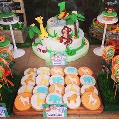 Jungle theme birthday ideas