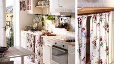 Преображение кухни с помощью текстиля