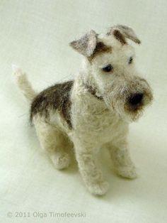 http://www.needlefeltedbyolga.com/images/arnold-wire-fox-terrier-5.jpg #felteddog #feltanimalsdiy