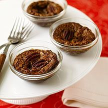 Pecan tartlets - part souffle, part tart -- really just pecan pie minus the crust. Whatever you call them, they're absolutely delicious. WWP+ 4