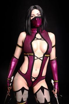 Mileena from the MK video games.