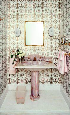 Wallpaper Way BEAUTY PIECE  OF WASHBASIN