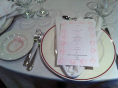 Sample of our table set up for Alicia's Baby shower
