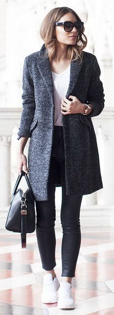 Coat – Lookagain Tee – Rag & Bone Denim – Paige Bag – Givenchy Trainers – Nike