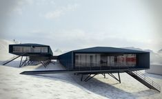 Fouryears since Brazil's Comandante Ferraz Antarctic research facilities burnt to the ground on King George Island, work has begun on erecting Estúdio 41 Arquitetura's new $100 million replacement scientific centre. The structureis slated to b...