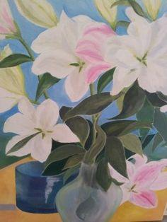 oil lillies