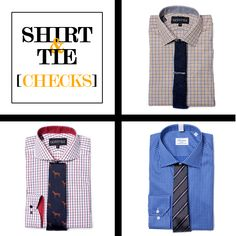 Style Tips | How to Match Your Shirt & Tie: Checks | GOTSTYLE.CA