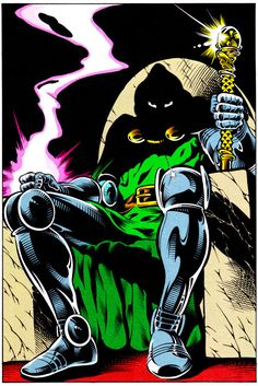 Doctor Doom Pin-Up by Ian Akin & Brian Garvey