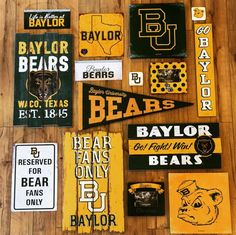 Baylor decor for any die-hard fan!