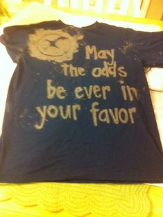 Bleach pen shirts!  Great idea for creative teens - the design possibilities are endless