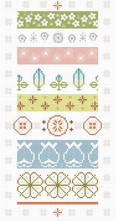 Pyrex cross stitch patterns for free.