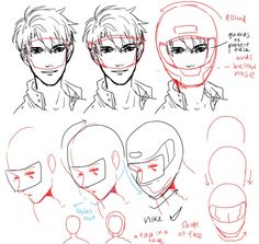 How to draw a helmet