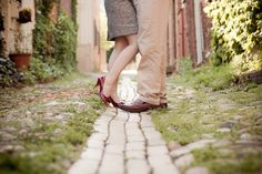 old town alexandria engagement session7 550x366 Lauren + Lecks Old Town Alexandria Engagement Session