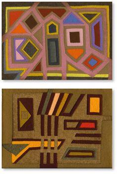 Sisi Bolliger (1916 bis 2010) liess sich von der Technik der Kina-Indianer inspirieren und experimentierte in den frühen 80er-Jahren mit Textilien und unter anderem mit Molas, bevor sie sich dann fast ausschliesslich der Farbstiftzeichnung zuwandte.   Viele weitere Ihrer Arbeiten sind auf der Webseite www.aussenseiterkunst.ch und www.outsider-art-brut.ch zu sehen, wo insgesamt Arbeiten von neunundneunzig ganz unterschiedlicher Künstler vorgestellt werden.