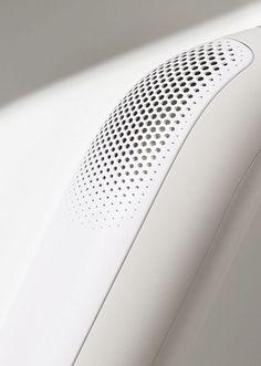 Industrial Design Trends and Inspiration - leManoosh Parametrisches Design, Design Trends, Pattern Design, House Design, White Deck, Motifs Textiles, Parametric Design, 3d Prints, Texture Design