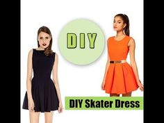 Slightly easier verson-- includes directions for making skirt into a dress (tank)