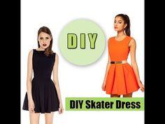 New Dress Skater Pattern Circle Skirts 64 Ideas Diy Clothing, Sewing Clothes, Clothing Patterns, Dress Patterns, Barbie Patterns, Dresses For Teens, Trendy Dresses, Outfits For Teens, Nice Dresses