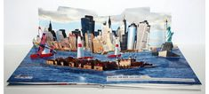 Red Bull Air Race World Championship New York Pop-Up Book - Papersmyths Mailer Design, Pamphlet Design, Brochure Design, Brochure Ideas, Pop Up 3d, Bull Images, Identity, Libros Pop-up, Paper Pop