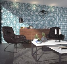 we suggest the Wall Panels Mid Century as it is a beautiful and amazing wall decoration and consequently a gorgeous choice. Our wall panels will certainly transform any room of your home or office, quick and mess free with the Wall Panels Mid Century. Tuiles 3d, 3d Wandplatten, Interior Walls, Interior Design, Interior Balcony, Interior Office, 3d Tiles, Decorative Wall Panels, 3d Wall Panels