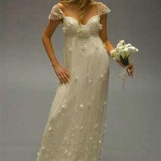 beautiful vintage wedding dress...