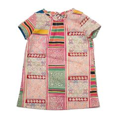 The Mosaic Tile Dress is a classic silhouette made modern with its… Little Girl Outfits, Kids Outfits, Cute Outfits, Cute Babies, Baby Kids, Toddler Girls, Well Dressed Kids, Kid Styles, Summer Girls