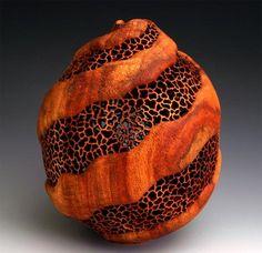 By woodturning artist J. Paul Fennell... http://www.jpaulfennell.com/