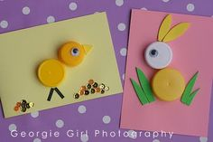 Vamos brincar com as crianças?   A ideia é fazer vários bichinhos usando apenas tampinhas de garrafa pet... veja como é fácil e criativo c...