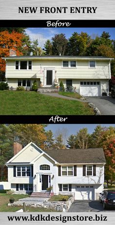 Home Interior Salas .Home Interior Salas Ranch Exterior, Exterior Remodel, Exterior Paint, Exterior Design, Cottage Exterior, D House, House Front, Home Design, Design Ideas
