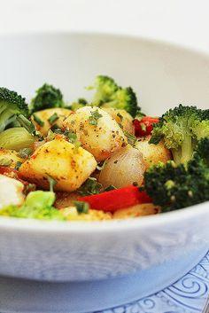 Cozinhadaduxa: Salada de Pérolas do Mar