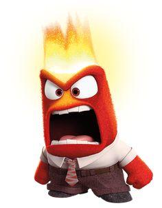 Anger Inside Out Transparent PNG Clip Art Image