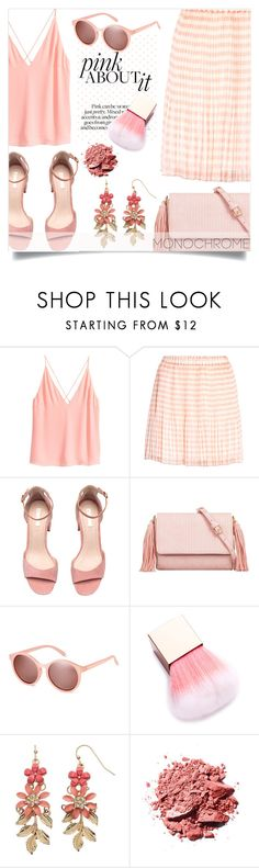 """""""A serious case of pink"""" by alaria ❤ liked on Polyvore featuring SKINN, KoKo Couture, LC Lauren Conrad and monochromepink"""