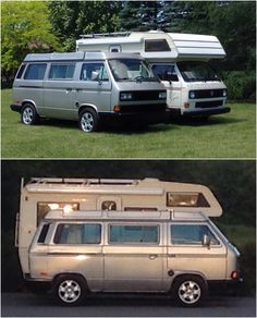 Vw Bus T3, Volkswagen, Vw Cars, Happy Campers, Camper Van, Motorhome, Caravan, Vans, Camping