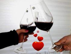 Valentijn! Mooie wijnglazen
