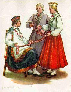 Folk Costumes from Kurzeme