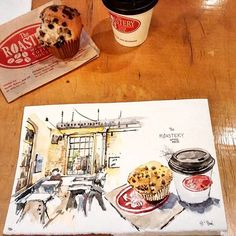 Joined #TOUSK meet up today at 401 Richmond. It was too cold to sketch outside so I grabbed a cafe mocha and chilled out at this cozy coffee shop - Roastery Coffee House. Thanks @mjsketchbook for organizing another awesome event. 💙 #torontocafes2016 #theroasterycoffeehouse #toronto #torontoart #torontoartist #torontourbansketchers #usk #urbansketchers #urbansketch Cozy Coffee Shop, Urban Sketchers, Chill, Sketches, Photo And Video, Mocha, Artist, Toronto, Organizing