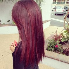 Love this red hair color