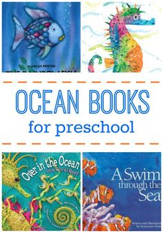 Ocean Picture Books for Preschoolers + some non-fiction recommendations too! Fun, engaging picture books that will support math, literacy, and science skills!