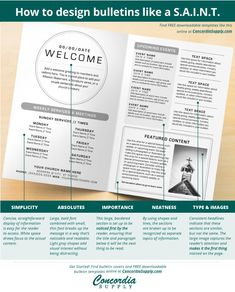 Free Church Newsletter Template Communication Resources Online Store Newsletters