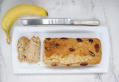 Pain vegan aux bananes Banana Bread, French Toast, Vegan, Breakfast, Desserts, Food, Almond Milk, Baking Soda, Morning Coffee