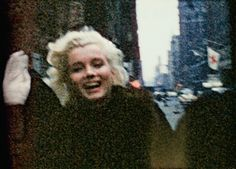 Marilyn Monroe .The film from which these stills were taken was shot by Peter Mangone, aged 15.