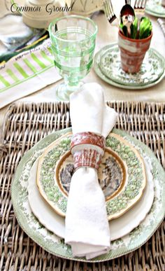"""Anything """"Vintage Garden"""" gets my attention, so when I recently purchased a new magazine called """"Southern Tables"""" by Hoffman Publication..."""
